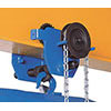 P10020: Hoist holder trolley, chain translation - Course; TRACTEL