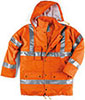 S07040: High visibility coat; NO LABEL