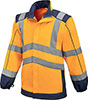 S07120: Whistler high visibility rain jacket; FORMAT