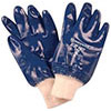 S10345: Cotton gloves, fully coated with blue nitrile; HONEYWELL