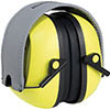 S25140: High-visibility, folding ear defenders; HOWARDLEIGHT