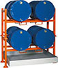 V50080: Stackable support for drums; TKN_MAG-LINE