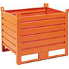 V55010: Stackable sheet metal container; SALL