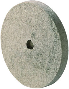 L40045: Felt discs with metal insert with hole; PFERD