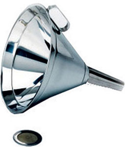 P50685: Round stainless steel funnel; AEG_MARTINELLI