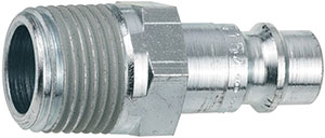 R80160: Male connection without valve - Series 320 threaded male; CEJN
