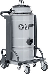 R85340: Industrial single-phase vacuum cleaner; NILFISK