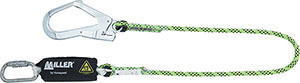 S55158: Lanyard with energy absorber; MILLER