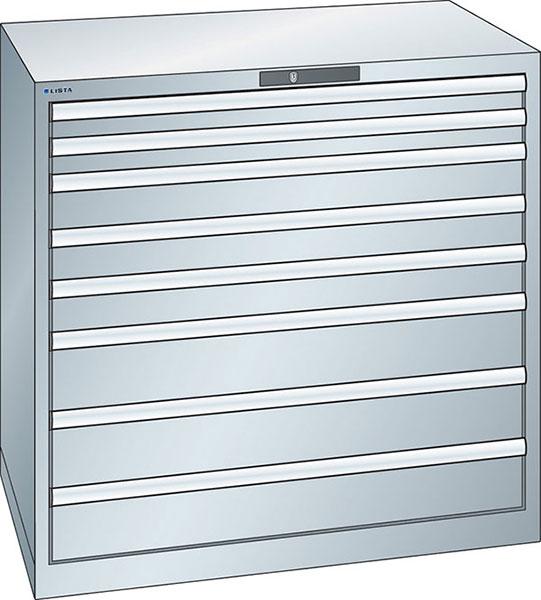 v06925: armadio a cassetti 54x36e altezza 1000 mm; lista