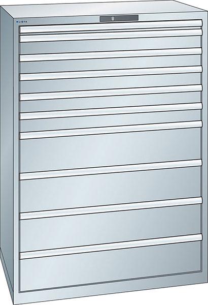 v06945: armadio a cassetti 54x36e altezza 1450 mm; lista
